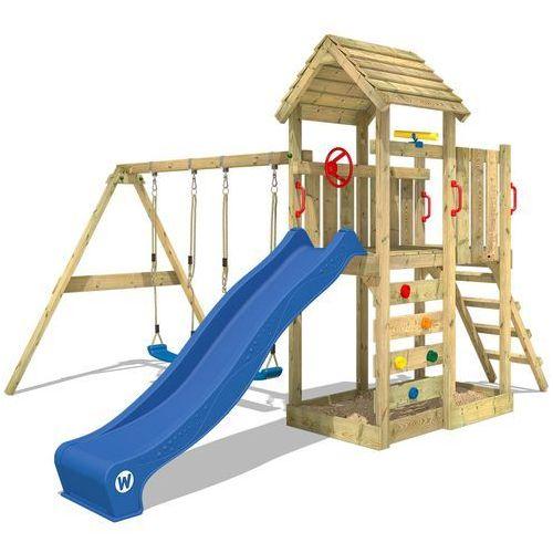 Wickey flyer Plac zabaw z drewnianym dachem multiflyer (4250533910710). Najniższe ceny, najlepsze promocje w sklepach, opinie.
