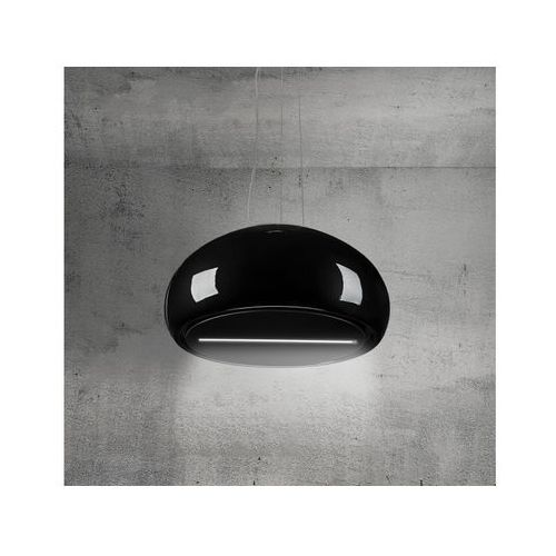 Afrelli Okap wyspowy na lince bello czarny 60 cm, 805 m3/h (5907670758178)