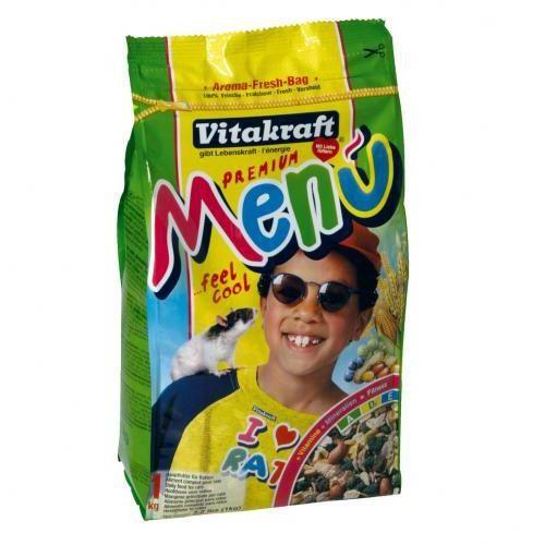 Vitakraft  premium menu pokarm dla szczurka 400g/1kg, kategoria: pokarmy dla gryzoni