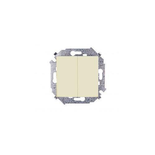 Kontakt - simon Łącznik schodowy podwójny beż 1591397-031 simon15 (5902787547608)