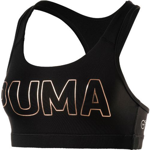 Puma forever logo biustonosz sportowy puma black/puma copper