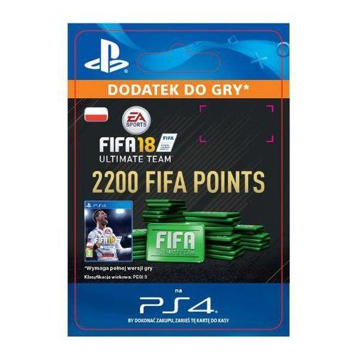 Sony Fifa 18 2200 punktów [kod aktywacyjny]