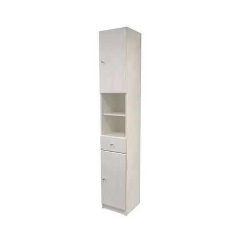 Słupek łazienkowy Rumba 30 x 184,2 x 33 cm biały, AM-NSC-220-00