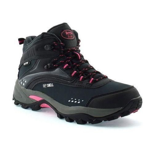 Obuwie trekkingowe z membraną American Club HLA8690H - Czarny, kolor czarny
