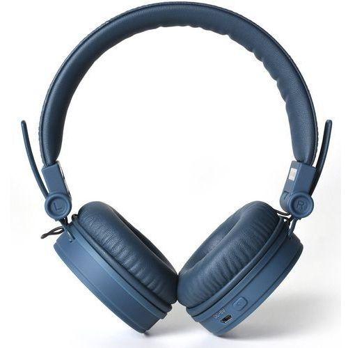 Słuchawki nauszne FRESH N REBEL Caps Bluetooth Indygo