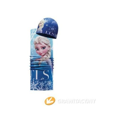 Zestaw  czapka junior z microfibry i polaru frozen elsa+ original buff frozen elsa od producenta Buff