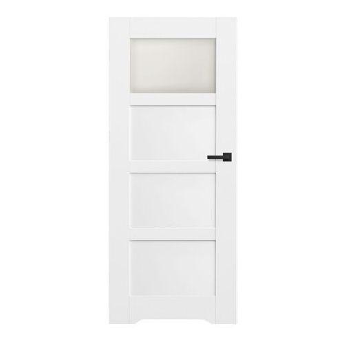 Drzwi z podcięciem Connemara 70 lewe kredowo-białe, SBI003077