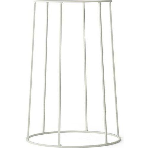 Menu Kwietnik wire m biały (5709262971329)