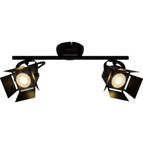 Brilliant Lampa punktowa g08913/76 gu10, czarny (matowy) (4004353241703)