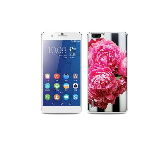 Foto Case - Huawei Honor 6 Plus - etui na telefon Foto Case - różowe kwiaty z kategorii Futerały i pokrowce do telefonów