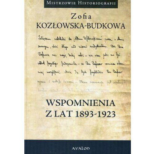 Wspomnienia z lat 1893-1923, oprawa twarda