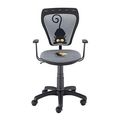 Krzesło dziecięce MINISTYLE Kot i mysz - Szkolna Promocja!, Nowy Styl