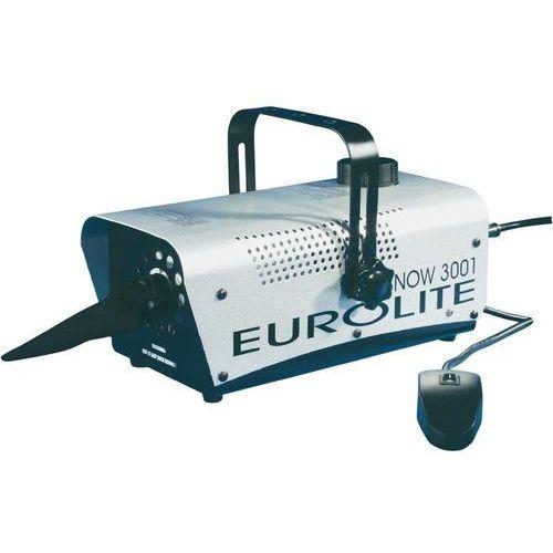 Maszyna do produkcji śniegu, Eurolite Snow 3001, zbiornik 1 l, srebrna (8715693992830)