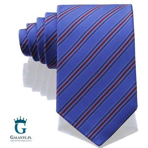Niebieski włoski krawat jedwabny Arcuri 14813/3, 14813/3