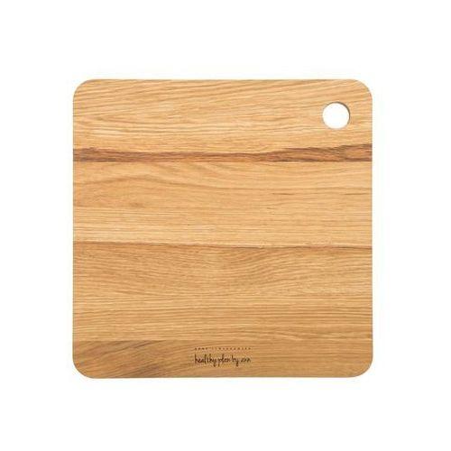 Deska drewniana Healthy Plan by Ann kwadratowa