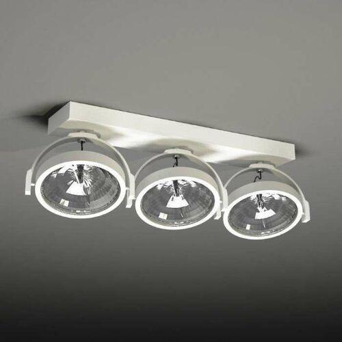 Plafon LAMPA sufitowa SAKURA 7257 Shilo reflektorowa LISTWA ruchoma OPRAWA biały