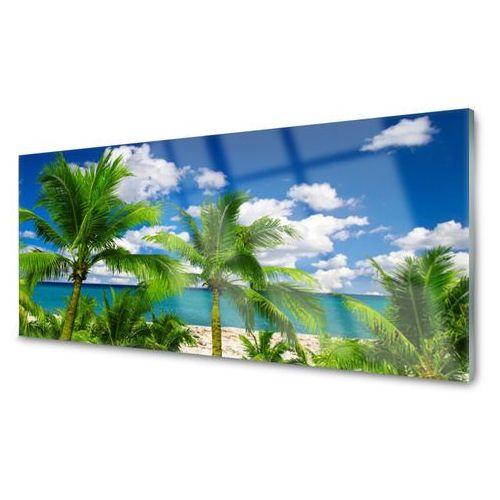 Obraz akrylowy morze palma drzewa krajobraz marki Tulup.pl