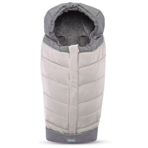 Inglesina śpiworek Newborn Winter Muff - Silver (8029448072433)