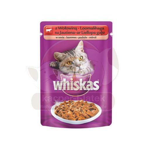Whiskas z wołowiną 48x100g
