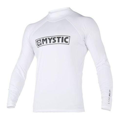 Mystic star rashvest l/s (white) 2018