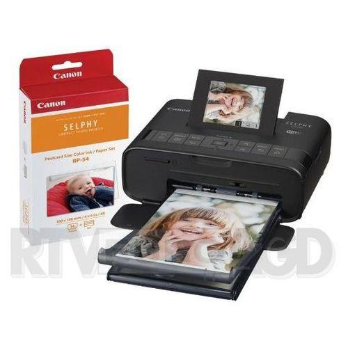 Canon Selphy CP1200 (czarny) + 54RP Print Kit - produkt w magazynie - szybka wysyłka! (8714574635941)