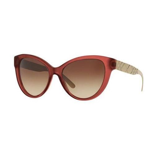 Okulary Słoneczne Burberry BE4220F Asian Fit 357613, kolor żółty