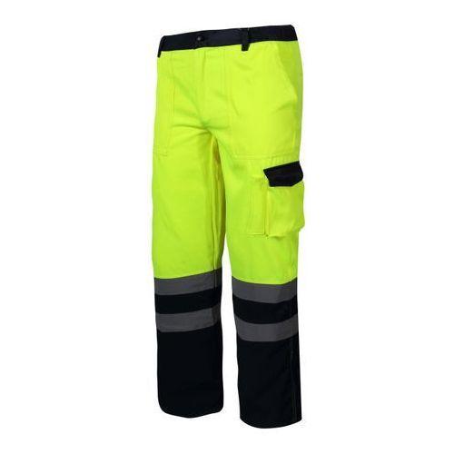LAHTI PRO Spodnie ostrzegawcze letnie żółte rozmiar XL /L4100404/ (5903755069542)