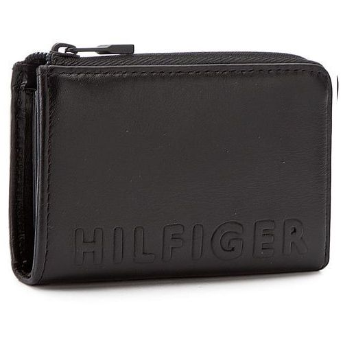 Etui na klucze TOMMY HILFIGER - Hilfiger Deboss Mini Zip Around AM0AM01937 002