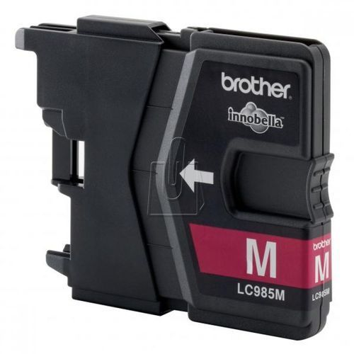 Brother oryginalny ink LC-985M, magenta, 260s, Brother DCP-J315W (4977766675437)