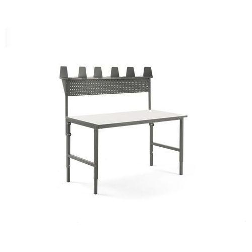 Aj produkty Stół cargo, 1600x750 mm, nadstawka, panel narzędziowy