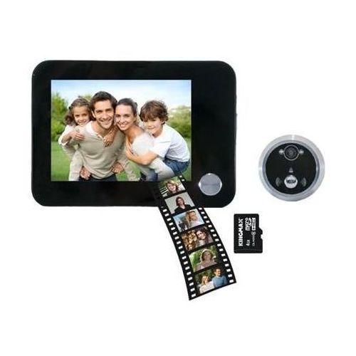 Elektroniczny wizjer do drzwi z dzwonkiem i funkcją nagrywania ORNO OR-WIZ-1102 ()