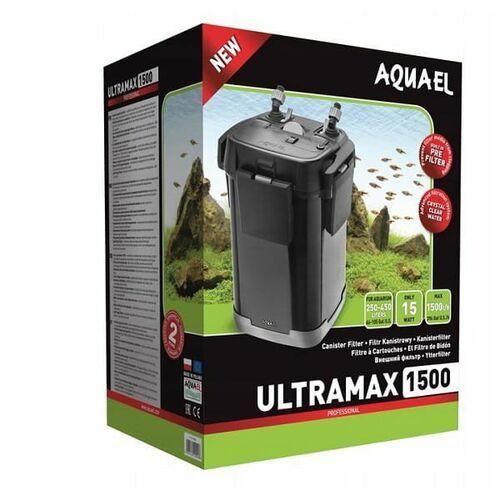 Aquael filtr zewnętrzny ultramax 1500 nr kat. 120665
