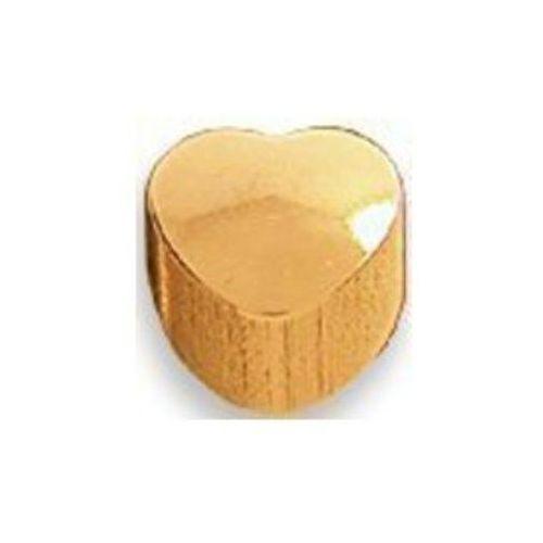 Studex Kolczyk mini złoty serce m502y+