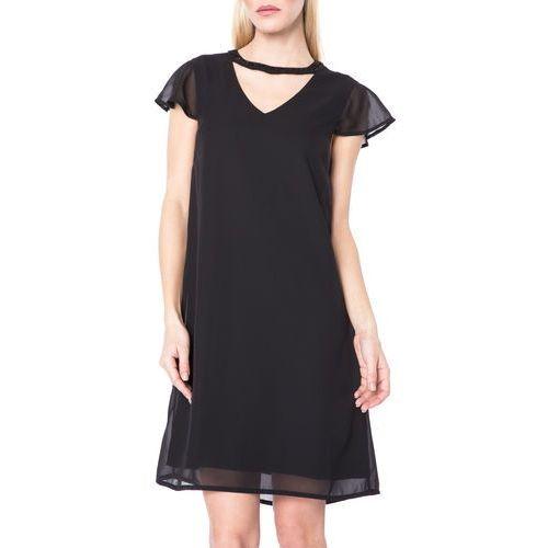 Vero Moda Lita Sukienka Czarny M, kolor czarny