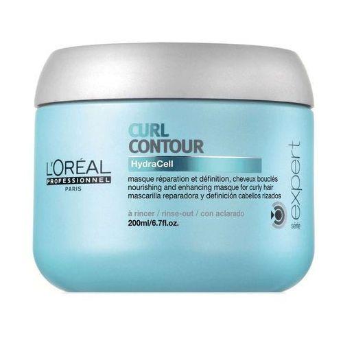 L'oréal professionnel  série expert curl contour maseczka odżywcza do włosów kręconych i po trwałej ondulacji (mask with hydracell) 200 ml