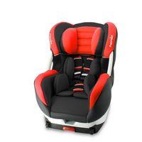 Nania fotelik ERIS (COSMO) ISO PREMIUM BLACK, czerwony (3507460088700)