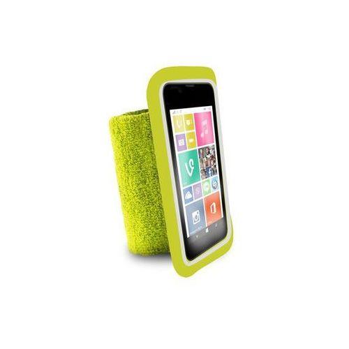 """PURO Running Band - Uniwersalna frotka do biegania do smartfonów max 4.3"""" + key pocket (limonkowy) (8033830135248)"""