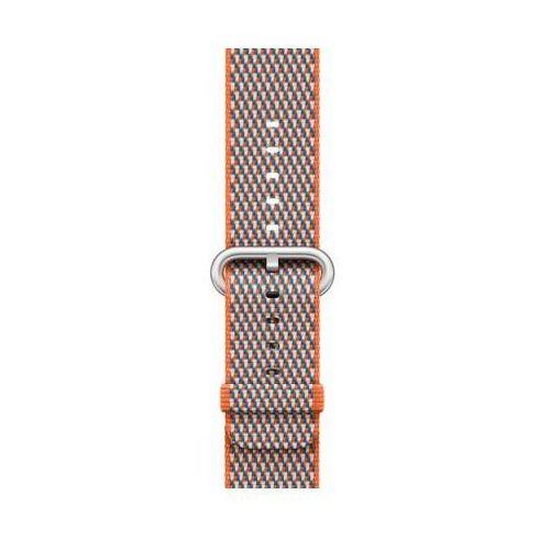 Apple Pasek do smartwatcha watch z plecionego nylonu w kolorze gorzkiej pomarańczy (w kratkę) do koperty 42 mm mqvp2zm/a (0190198581181)