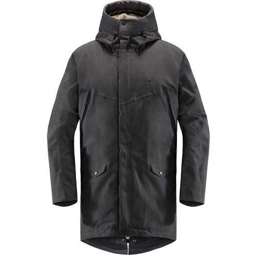 siljan kurtka mężczyźni czarny s 2018 kurtki codzienne marki Haglöfs