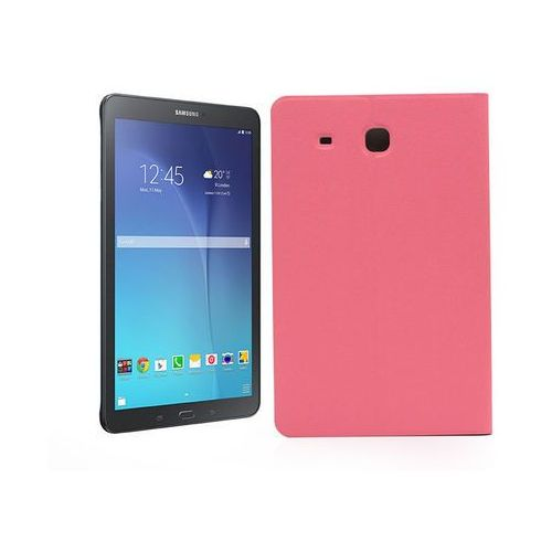Samsung Galaxy Tab E 9.6 (T560) - etui na tablet Flex Book - różowy, kolor różowy