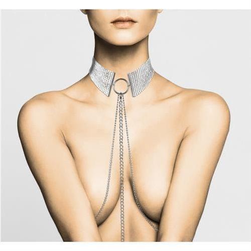 Bijoux indiscrets (sp) Bijoux indiscrets - désir métallique collar (srebrna)