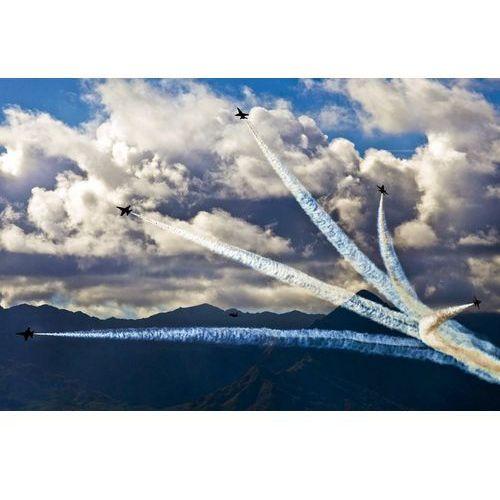 Fototapeta malownicze niebo połączenie z pokazem lotnictwa FP 2383