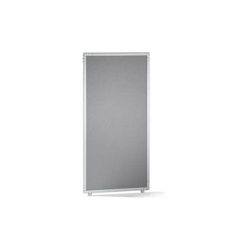 Ścianka działowa, filc, rama jasnoszara, 650x1300 mm. Do indywidualnych stanowis