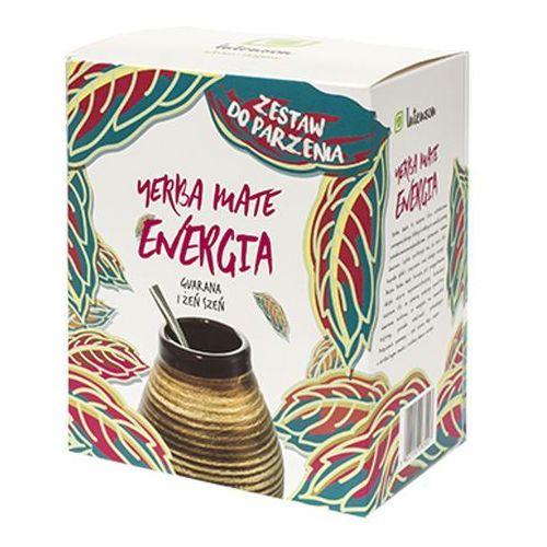 zestaw do parzenia yerba mate energia guarana i żeń szeń | darmowa dostawa od 250 zł wyprodukowany przez Intenson