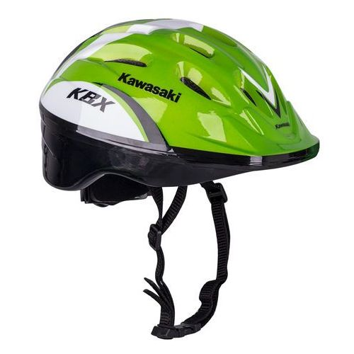 Kask na rower, rolki, hulajnogę Kawasaki Shikuro – PROMOCJA, Zielony, M (50-55 cm) (8596084067906)