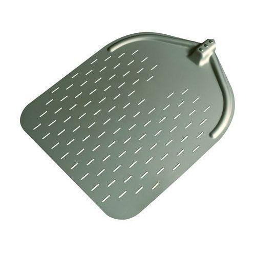 Płaska, prostokątna, aluminiowa łopata do pizzy bez uchwytu 370x467 mm, wzmacniana   , lpw37 marki Furmis