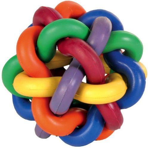 Trixie zabawki Trixie piłka węzełkowa z gumy dla psa śr. 7cm nr kat. 32621