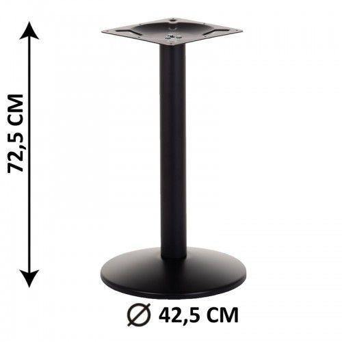 Podstawa stolika SH-4003-1/B, fi 42,5 cm (stelaż stolika), kolor czarny (5903917403238)