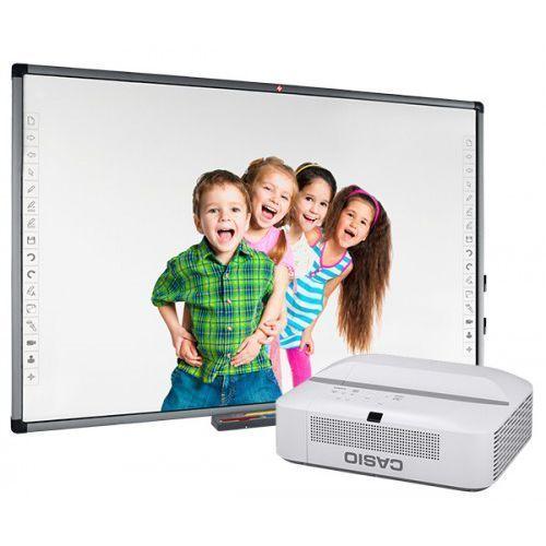 Avtek Tablica interaktywna tt-board 100 pro z projektorem ultrakrótkoogniskowym casio xj-ut311wn
