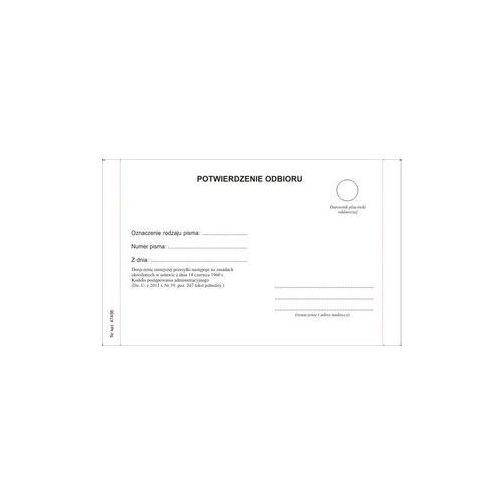 Zwrotne potwierdzenie odbioru / KPA - POSTĘPOWANIE - wzór 2016